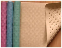 Rubber Shower Mats With Suction Pads